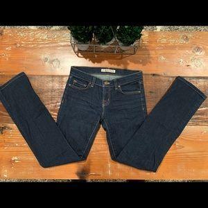 J BRAND Dark Wash Stretch Jeans - 26